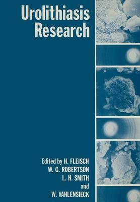 Urolithiasis Research (Paperback)