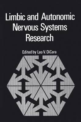 Limbic and Autonomic Nervous Systems Research (Paperback)