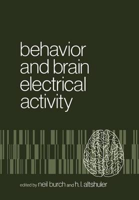 Behavior and Brain Electrical Activity (Paperback)