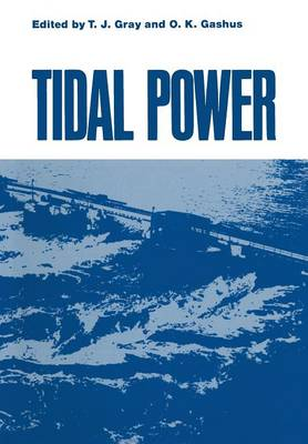 Tidal Power: Proceedings of an International Conference on the Utilization of Tidal Power held May 24-29, 1970, at the Atlantic Industrial Research Institute, Nova Scotia Technical College, Halifax, Nova Scotia (Paperback)