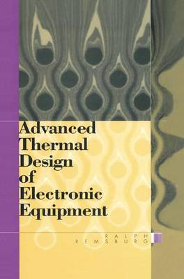 Advanced Thermal Design of Electronic Equipment (Paperback)