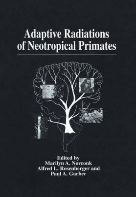 Adaptive Radiations of Neotropical Primates (Paperback)