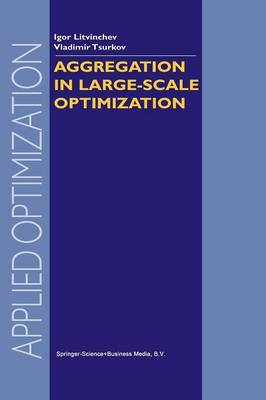 Aggregation in Large-Scale Optimization - Applied Optimization 83 (Paperback)