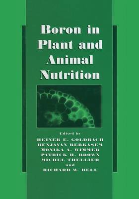 Boron in Plant and Animal Nutrition (Paperback)