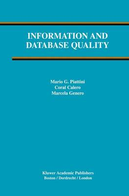 Information and Database Quality - Advances in Database Systems 25 (Paperback)