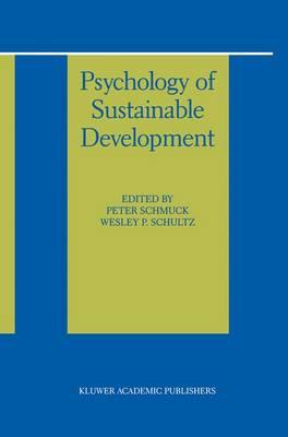 Psychology of Sustainable Development (Paperback)