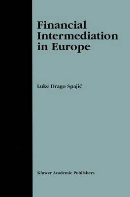 Financial Intermediation in Europe (Paperback)
