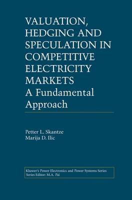 Valuation, Hedging and Speculation in Competitive Electricity Markets: A Fundamental Approach - Power Electronics and Power Systems (Paperback)