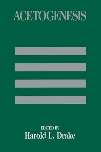 Acetogenesis - Chapman & Hall Microbiology Series (Paperback)