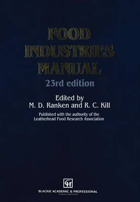 Food Industries Manual (Paperback)