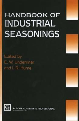 Handbook of Industrial Seasonings (Paperback)