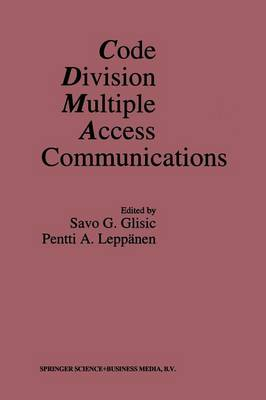 Code Division Multiple Access Communications (Paperback)