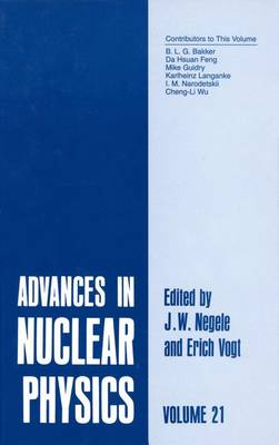 Advances in Nuclear Physics: Volume 21 - Advances in Nuclear Physics 21 (Paperback)