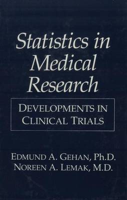 Statistics in Medical Research: Developments in Clinical Trials (Paperback)