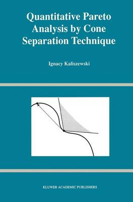 Quantitative Pareto Analysis by Cone Separation Technique (Paperback)