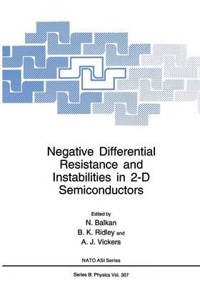 Negative Differential Resistance and Instabilities in 2-D Semiconductors - NATO Science Series B 307 (Paperback)