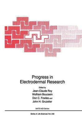 Progress in Electrodermal Research - NATO Science Series A 249 (Paperback)
