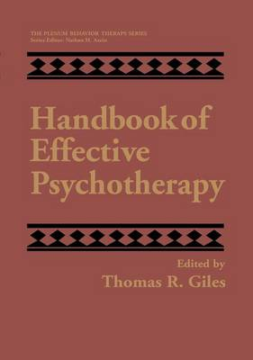 Handbook of Effective Psychotherapy - The Plenum Behavior Therapy Series (Paperback)