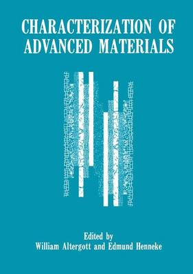 Characterization of Advanced Materials (Paperback)