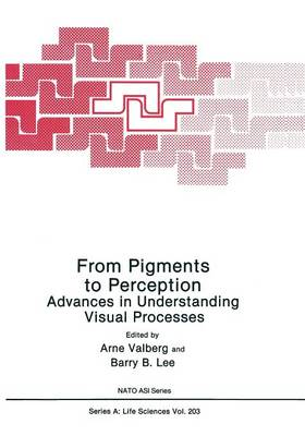 From Pigments to Perception: Advances in Understanding Visual Processes - NATO Science Series A 203 (Paperback)