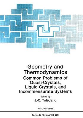 Geometry and Thermodynamics: Common Problems of Quasi-Crystals, Liquid Crystals, and Incommensurate Systems - NATO Science Series B 229 (Paperback)