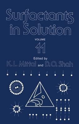 Surfactants in Solution: Volume 11 (Paperback)