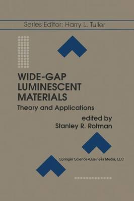 Wide-Gap Luminescent Materials: Theory and Applications - Electronic Materials: Science & Technology 2 (Paperback)