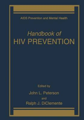 Handbook of HIV Prevention - Aids Prevention and Mental Health (Paperback)