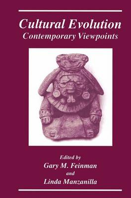 Cultural Evolution: Contemporary Viewpoints (Paperback)