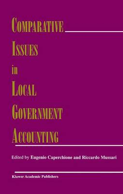 Comparative Issues in Local Government Accounting (Paperback)