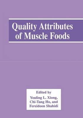 Quality Attributes of Muscle Foods (Paperback)