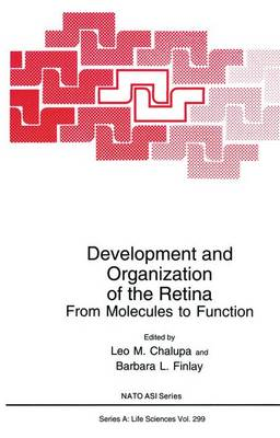 Development and Organization of the Retina: From Molecules to Function - NATO Science Series A 299 (Paperback)