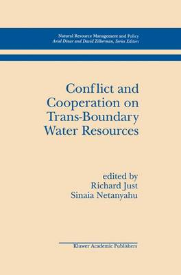 Conflict and Cooperation on Trans-Boundary Water Resources - Natural Resource Management and Policy 11 (Paperback)