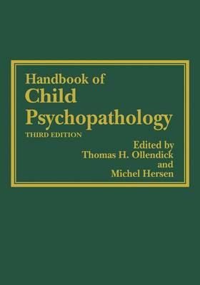 Handbook of Child Psychopathology (Paperback)
