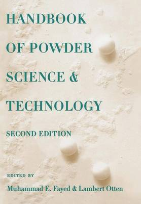 Handbook of Powder Science & Technology (Paperback)