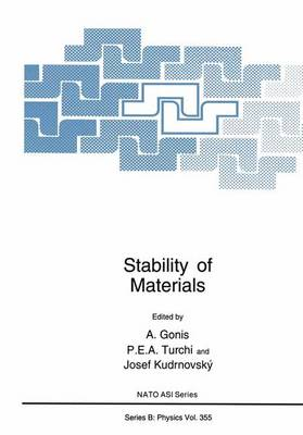 Stability of Materials - NATO Science Series B 355 (Paperback)