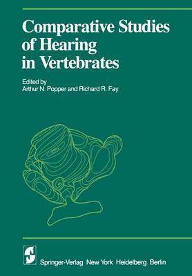 Comparative Studies of Hearing in Vertebrates - Proceedings in Life Sciences (Paperback)