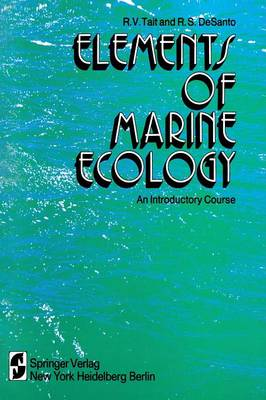 Elements of Marine Ecology: An Introductory Course (Paperback)