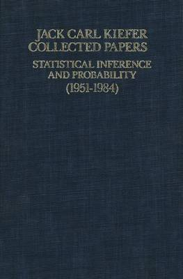 Collected Papers 1: Statistical Inference and Probability (1951 - 1963) (Paperback)