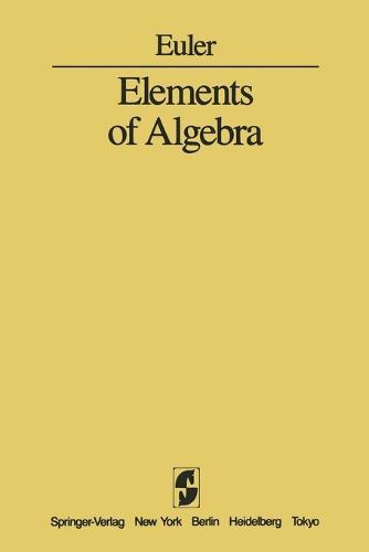 Elements of Algebra (Paperback)