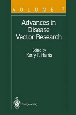 Advances in Disease Vector Research - Advances in Disease Vector Research 7 (Paperback)