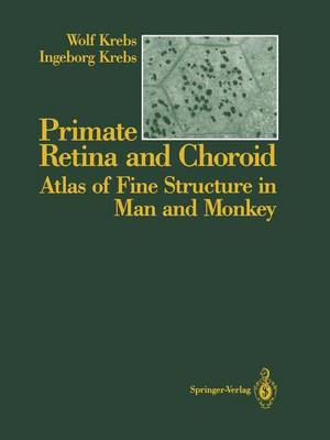 Primate Retina and Choroid: Atlas of Fine Structure in Man and Monkey (Paperback)