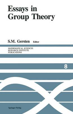 Essays in Group Theory - Mathematical Sciences Research Institute Publications 8 (Paperback)