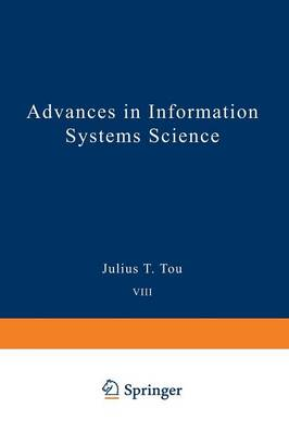 Advances in Information Systems Science: Volume 8 (Paperback)