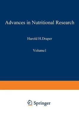 Advances in Nutritional Research - Advances in Nuclear Science & Technology 12 (Paperback)