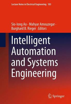 Intelligent Automation and Systems Engineering - Lecture Notes in Electrical Engineering 103 (Hardback)