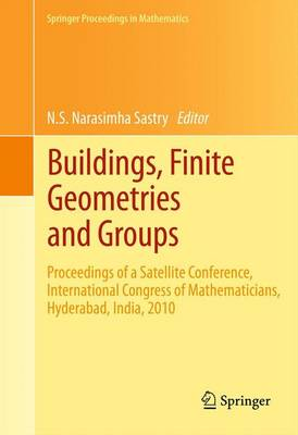 Buildings, Finite Geometries and Groups: Proceedings of a Satellite Conference, International Congress of Mathematicians, Hyderabad, India, 2010 - Springer Proceedings in Mathematics 10 (Hardback)