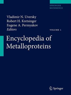 Encyclopedia of Metalloproteins - Encyclopedia of Metalloproteins (Hardback)
