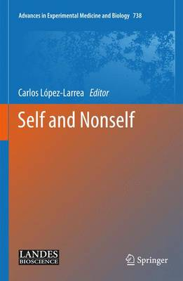 Self and Nonself - Advances in Experimental Medicine and Biology 738 (Hardback)