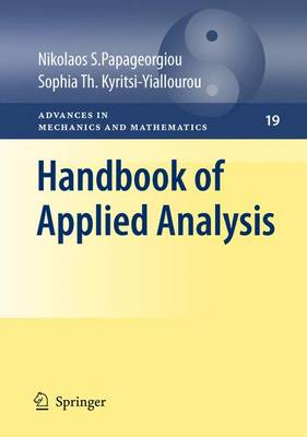 Handbook of Applied Analysis - Advances in Mechanics and Mathematics 19 (Paperback)